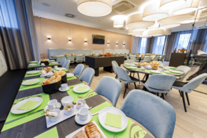 Opening nieuwe koffietafelzaal VAN HUMBEECK NV